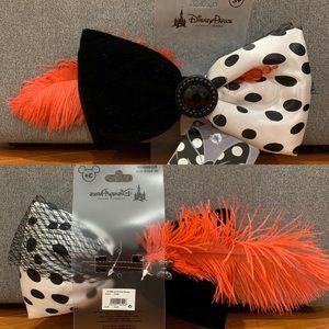 NWT Disneyland Paris Swap Your Bow 101 Dalmatians